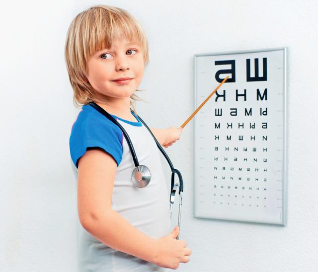 Как проверить зрение у ребенка в домашних условиях, проверка зрения дома ребенку 3-5 лет