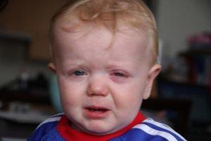 Температура при коньюктивите у детей: может ли быть?
