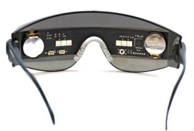 Очки для коррекции зрения в дырочку - перфорационные очки